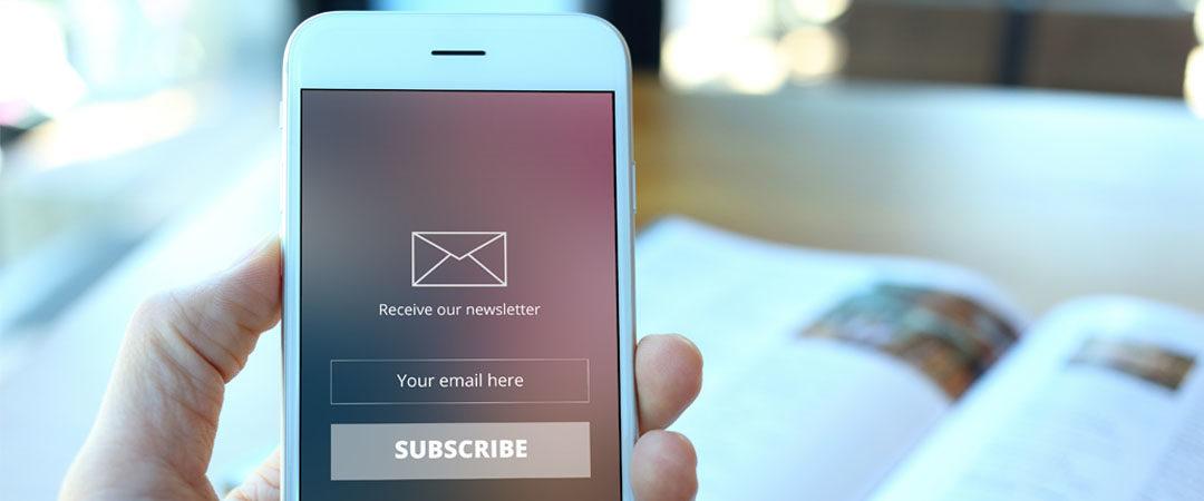 Nieuwsbrieven; wel of geen spam?