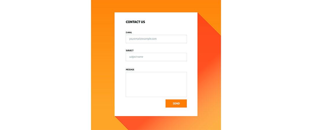 Laat het contactformulier geen spambot worden