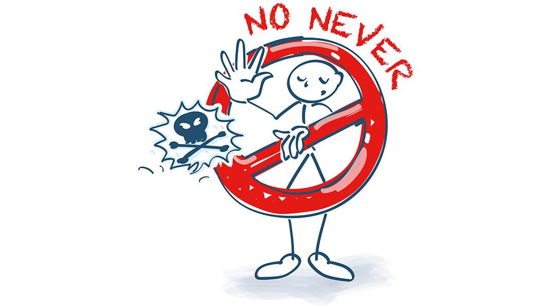 ´Ik heb nooit spam´